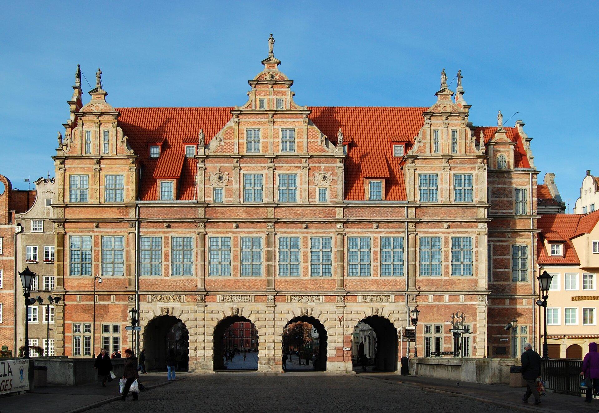Gdańsk -Brama Zielona Gdańsk -Brama Zielona Źródło: Marcin Białek, Wikimedia Commons, licencja: CC BY-SA 4.0.