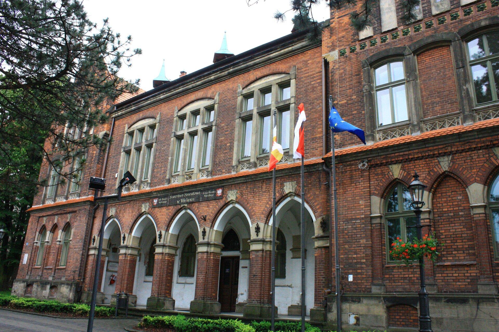 Wieliczka - siedziba starostwa wielickiego, dawniejSzkoła Górnicza