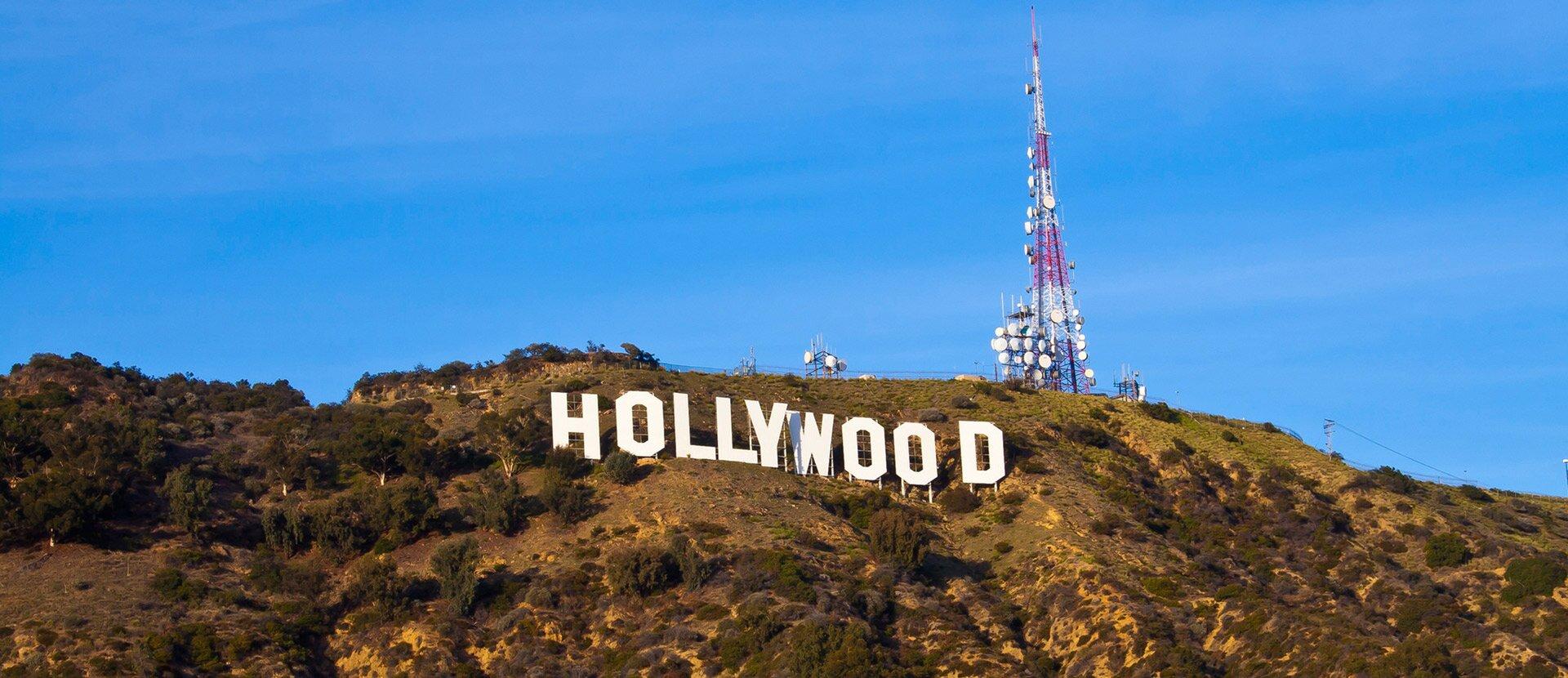Hollywood to potęga światowego kina Hollywood to potęga światowego kina Źródło: Michael Zanussi, licencja: CC BY 2.0.