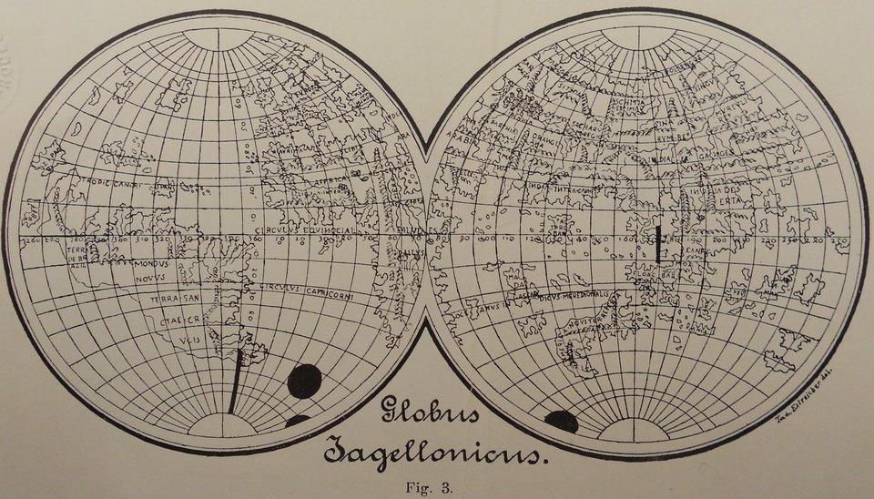 Globus jagielloński zCollegium Maius wKrakowie