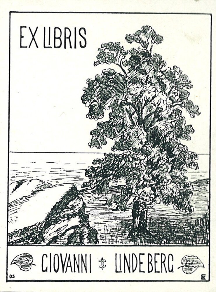 Ex libris 3 Źródło: domena publiczna.