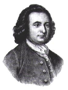 """Georg Mason Georg Mason byłtwórcą """"Deklaracji Praw Wirginii"""" uchwalonej 12 czerwca 1776 r., choć wcześniej analogiczny dokument uchwaliła już Karolina Północna (7 czerwca) Źródło: Wolfman, Georg Mason, domena publiczna."""