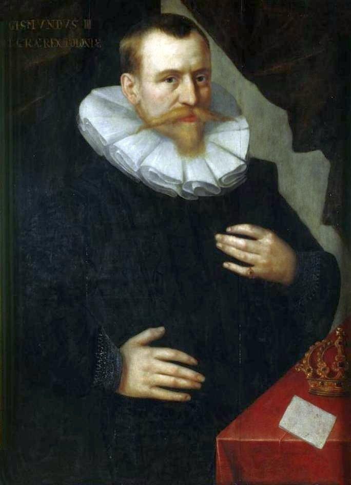 Portret Zygmunta III Wazy Źródło: Portret Zygmunta III Wazy, pocz. XVII w., olej na desce, Muzeum Czartoryskich, domena publiczna.