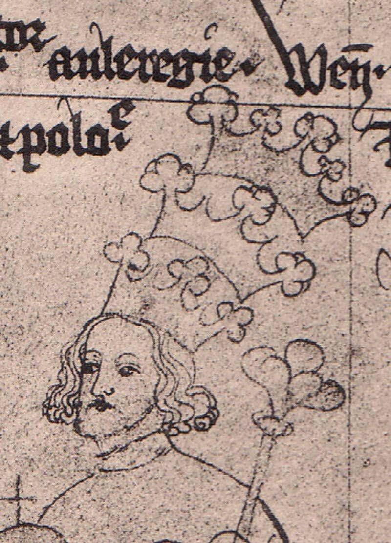 Wacław III Źródło: Bohemian, Wacław III, licencja: CC 0.