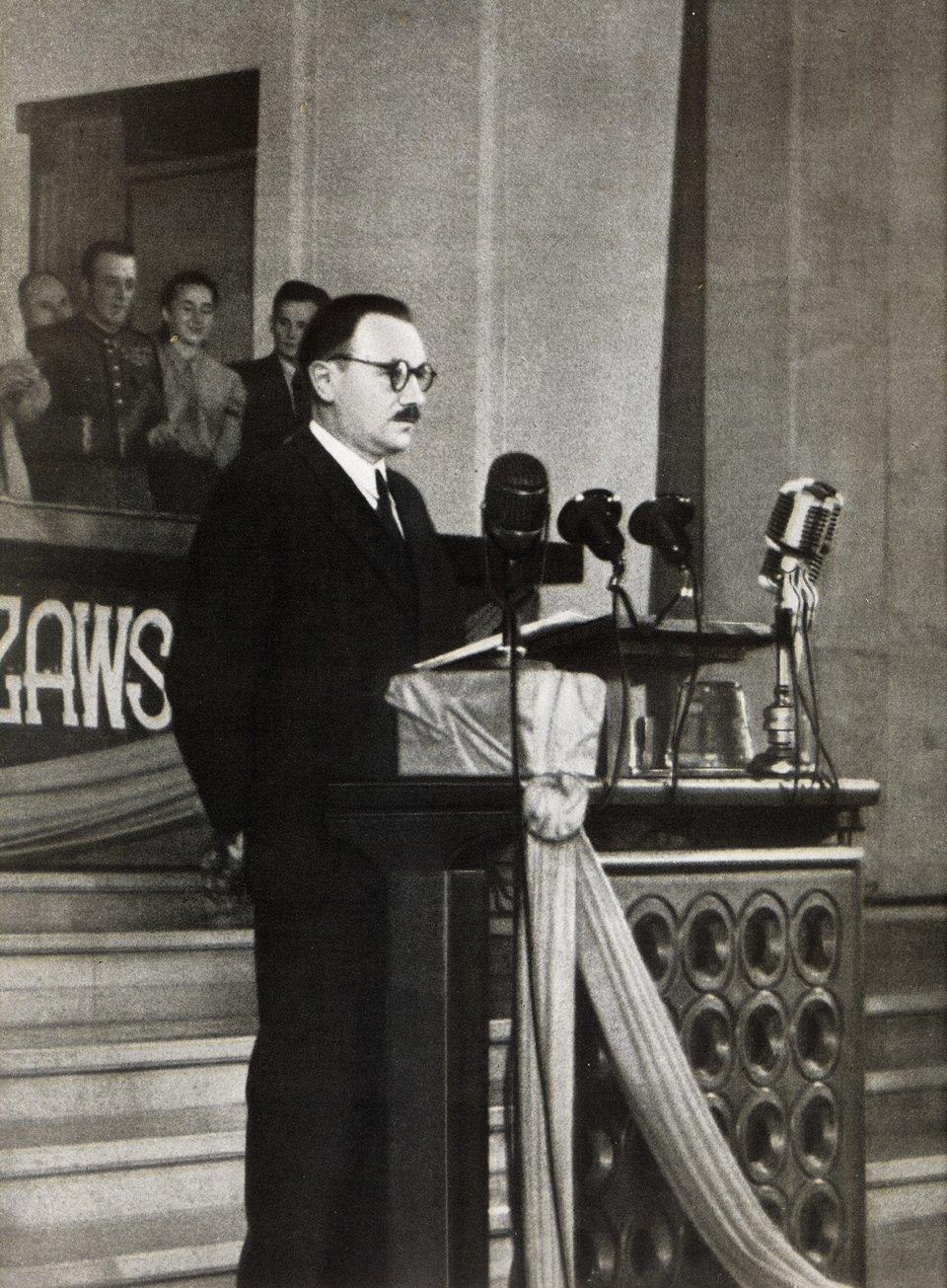 Bolesław Bierut w1949 roku
