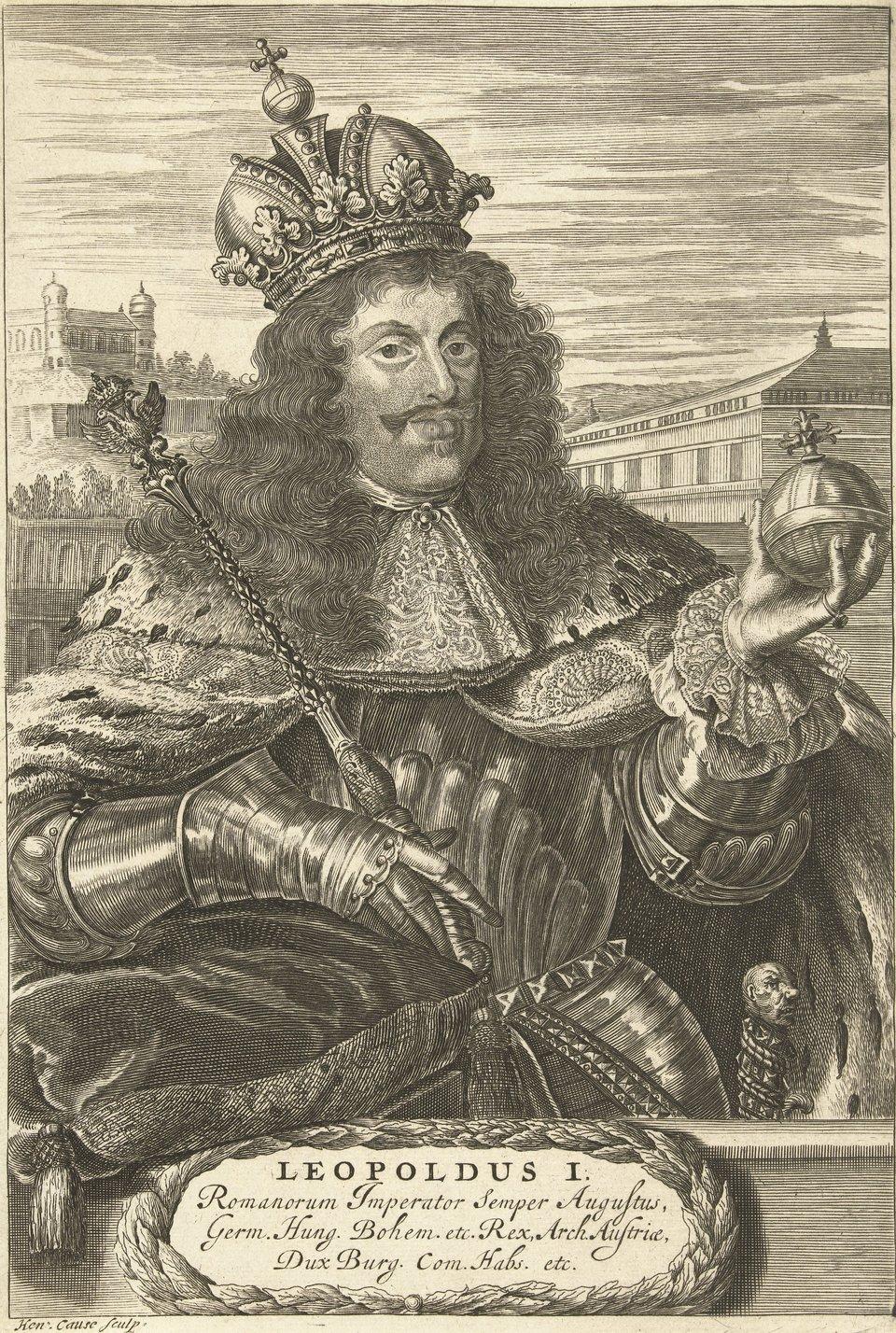 Portret cesarza Leopolda I.