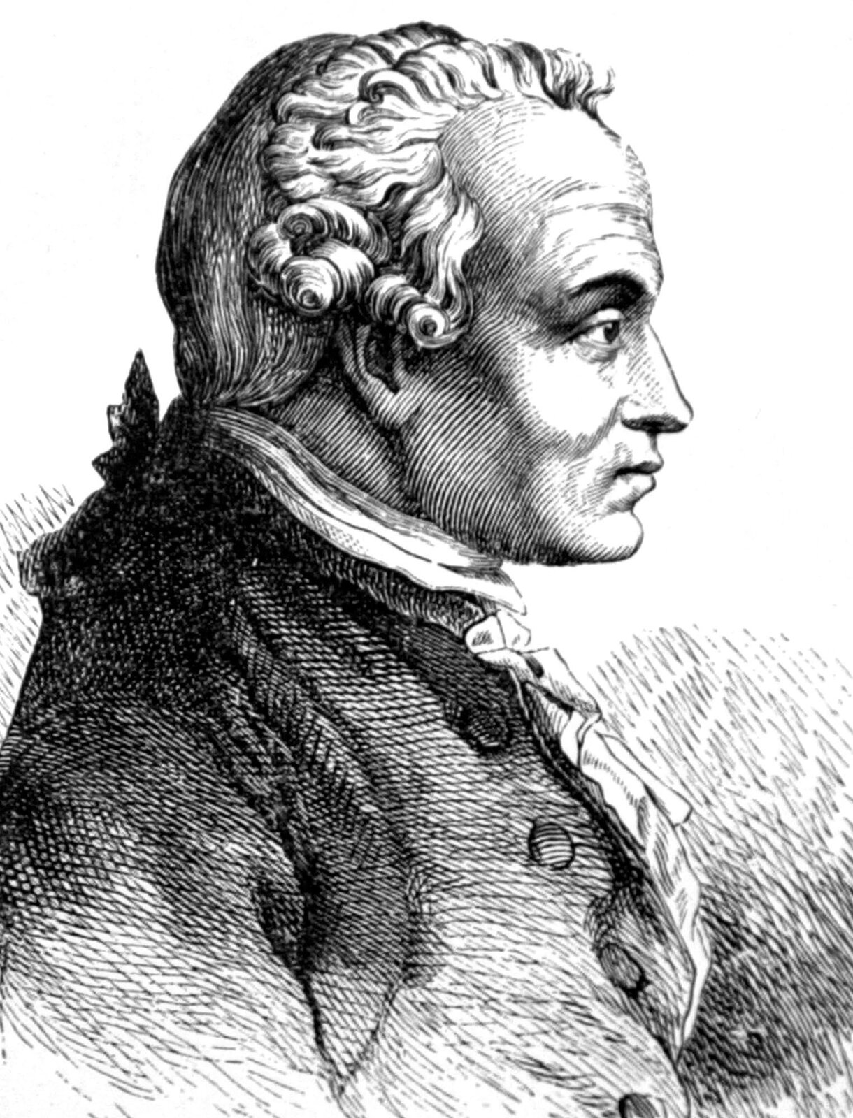 Immanuel Kant Immanuel Kant Źródło: Hans Schnorr, 1791, domena publiczna.