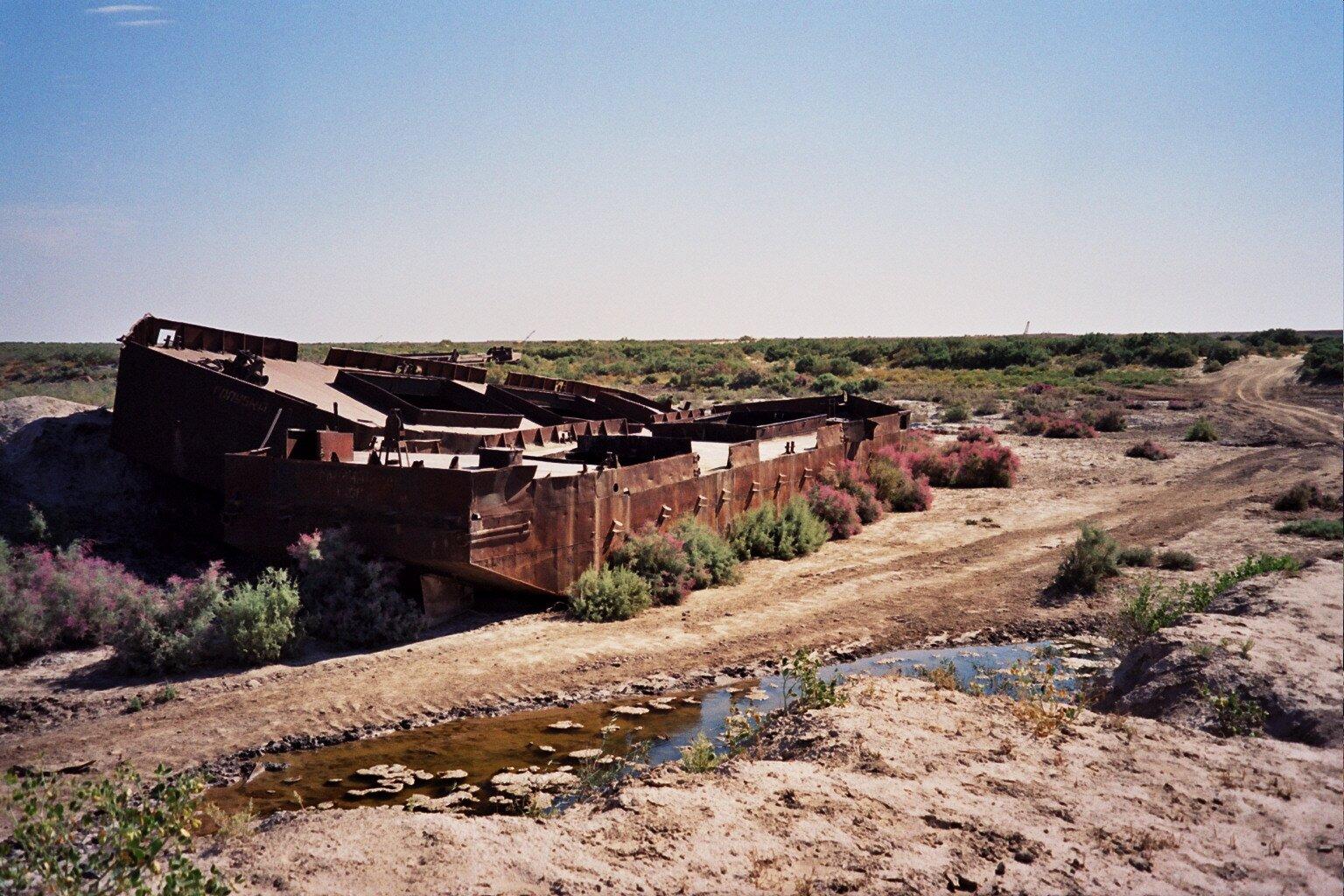 Cmentarzysko statków Źródło: upyernoz, fotografia, licencja: CC BY 2.0.