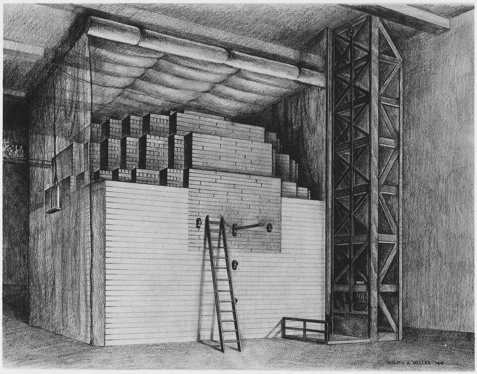 Stos atomowy Fermiego