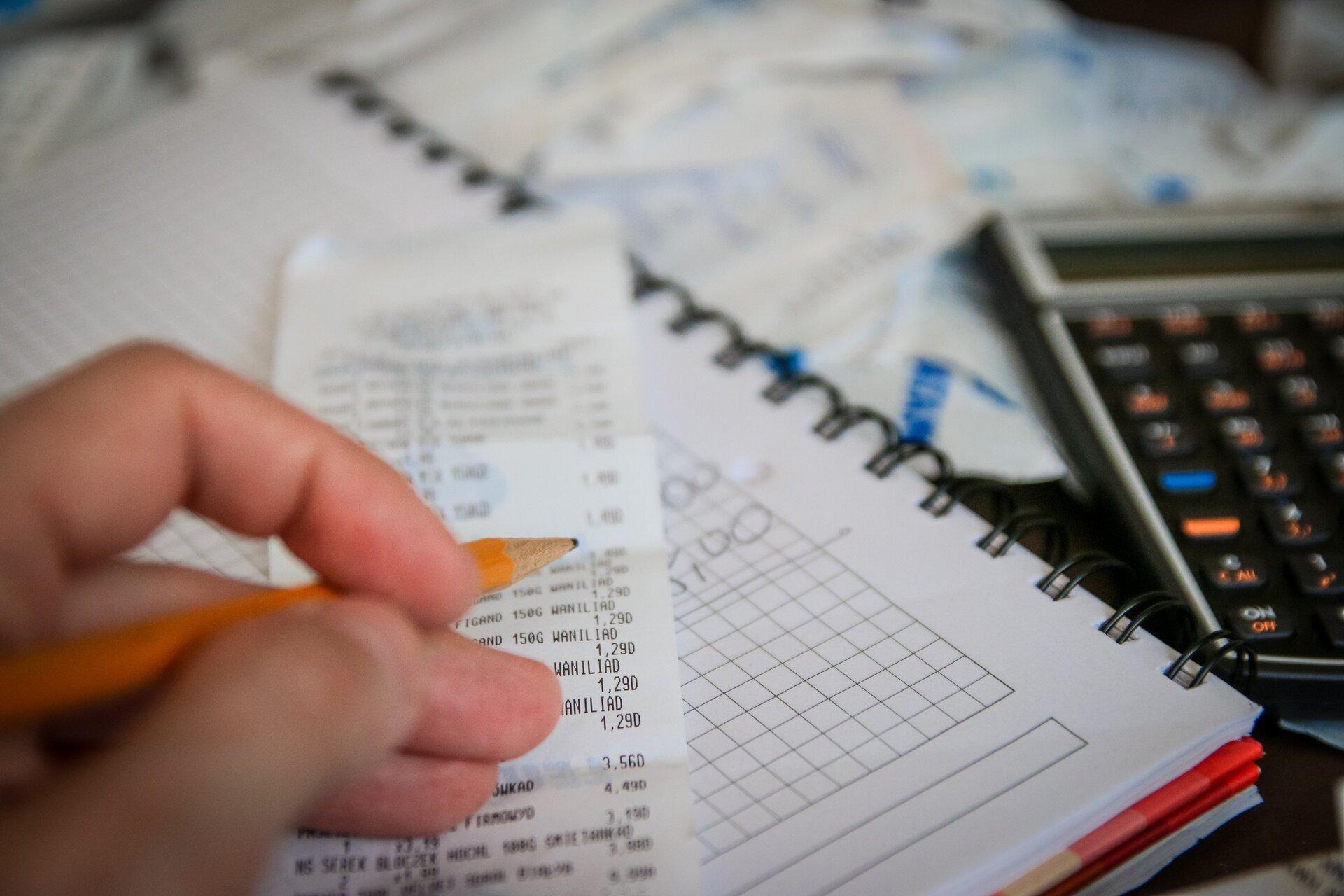 Obliczanie domowych wydatków Źródło: pixabay, Obliczanie domowych wydatków, licencja: CC 0.
