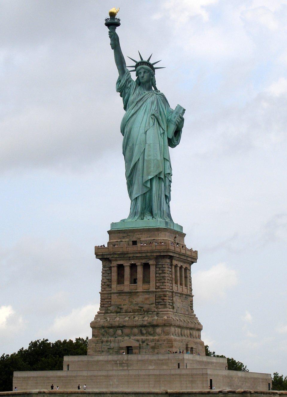 Statua Wolności wNowym Jorku Statua Wolności wNowym Jorku Źródło: Elcobbola, Wikimedia Commons, licencja: CC BY-SA 3.0.