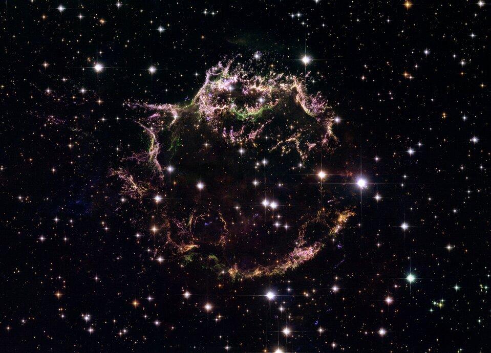 Zdjęcie wykonane przez kosmiczny teleskop Hubble'a