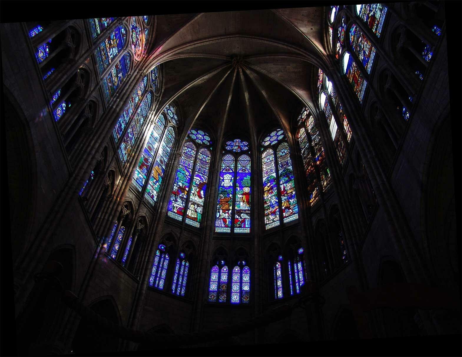 Chór kościoła Saint Denis