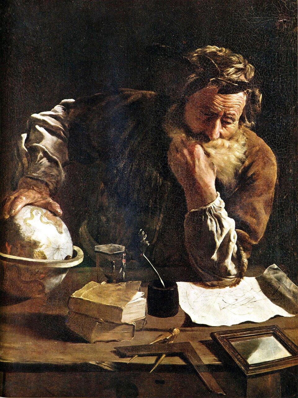 Archimedes Archimedes Źródło: Domenico Fetti, domena publiczna.