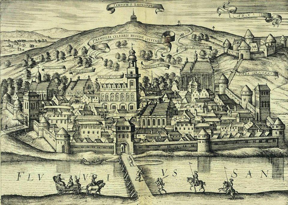 Samuel von Pufendorf, Oczynach Karola Gustawa, króla Szwecji, komentarzy ksiąg siedem, Norymberga 1696 Wmarcu 1656 roku Szwedzidotarli podJarosław,rozpędzili broniące przeprawy wojska Lubomirskiego izajęli miasto.Część armii zostaławysłana zzadaniem zdobycia Przemyśla, jednak nadejście wojsk Czarnieckiego - mimo niedawnej porażki pod Gołębiem -udaremniło tenplan.Czarniecki całkowicie zniszczył wysłany wkierunku Lwowa silny podjazd szwedzki. Następnie uderzył na posiłki idące zpomocąoddziałom oblegającym Przemyśl. Skutkiem tego16 marca wojska szwedzkie spod Przemyśla powróciły do królewskiego obozu pod Jarosławiem.Nieudane oblężenie Przemyśla można uznać za zwrot wwojnie, od którego rozpoczął się odwrót wojsk szwedzkich. Źródło: Erik Dahlbergh, Samuel von Pufendorf, Oczynach Karola Gustawa, króla Szwecji, komentarzy ksiąg siedem, Norymberga 1696, 1696, domena publiczna.