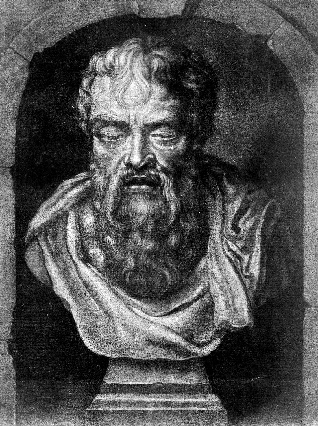 Heraklit zEfezu Źródło: Heraklit zEfezu, Museo Archeologico in Naples, licencja: CC BY 3.0.
