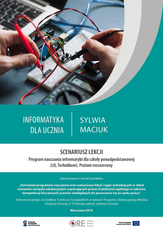 Pobierz plik: Scenariusz 9 Maciuk SPP Informatyka rozszerzony.pdf