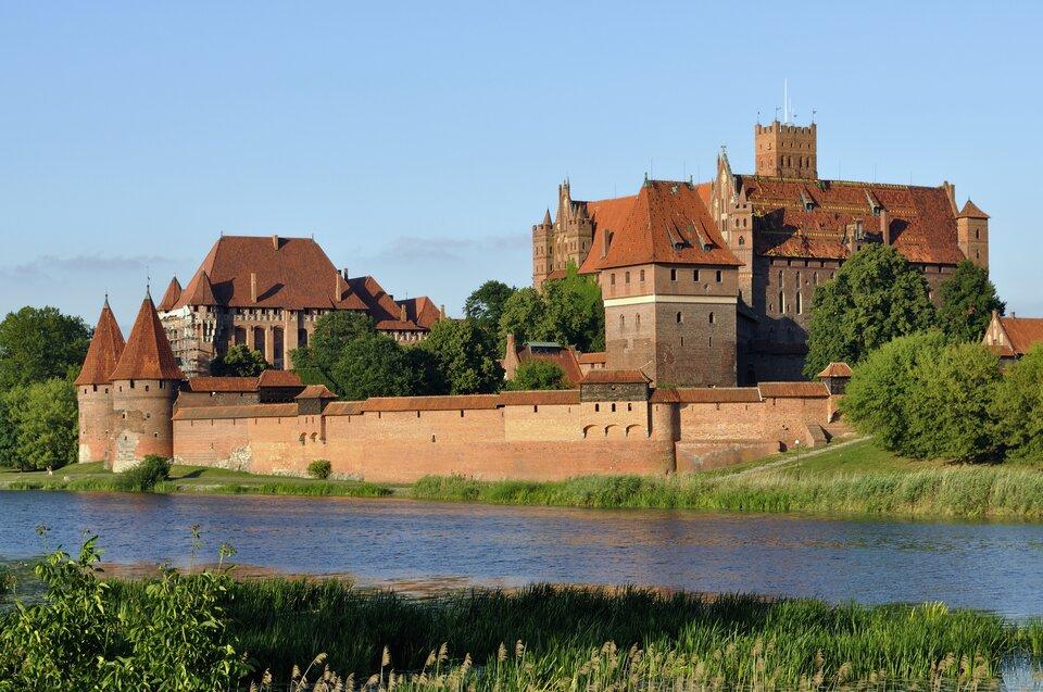 Zamek wMalborku Zamek wMalborku Źródło: DerHexer, Wikimedia Commons, licencja: CC BY-SA 3.0.