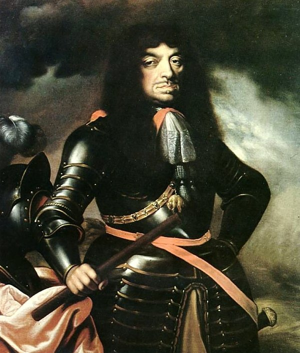obraz przedstawiaJana Kazimierza Wazę