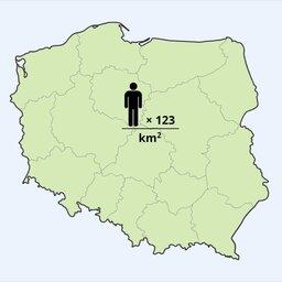 Rozmieszczenie ludności Polski ijego przyczyny