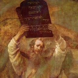 Otym jak ludu rzesza szła pod wodzą Mojżesza
