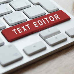 Revision on the text editor