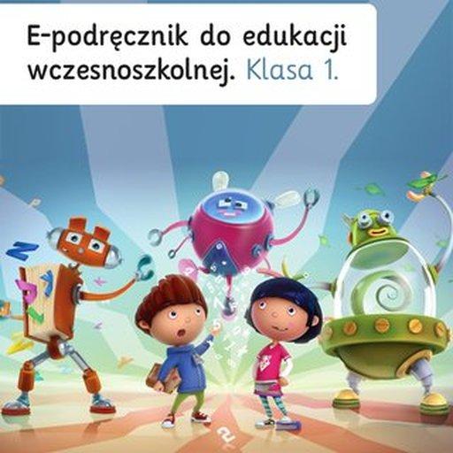 Ilustracja przedstawiająca okładkę e-podręcznika Klasa 1 - Zima