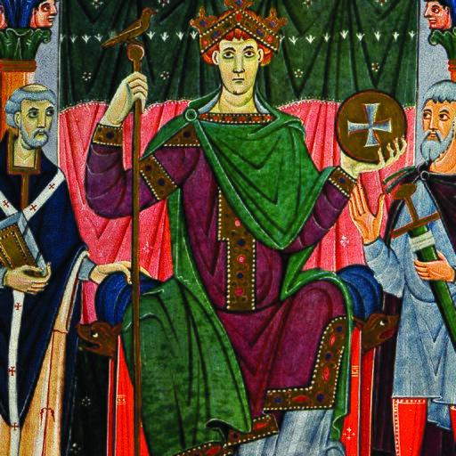 Ilustracja przedstawiająca okładkę e-podręcznika ważn@historia Średniowiecze