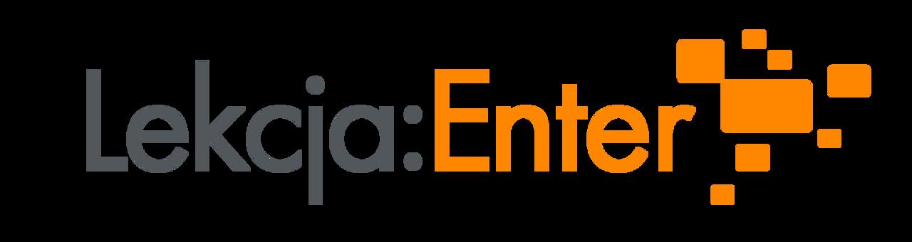 """Ilustracja przedstawiająca okładkę aktualności Szkolenia on-line zwykorzystania narzędzi internetowych izasobów cyfrowych wramach projektu """"Lekcja:Enter"""""""