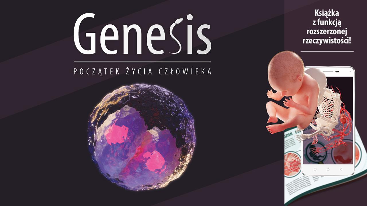 Ilustracja przedstawiająca okładkę aktualności Genesis – początek życia człowieka