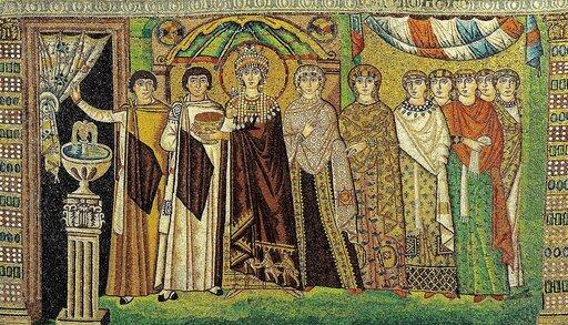 Ustrój polityczny ispołeczny Bizancjum wV–XI w.