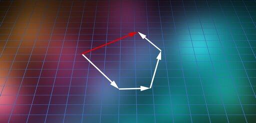 0124 Wjaki sposób wyznaczyć graficznie siłę wypadkową dla sił działających wdowolnych kierunkach?