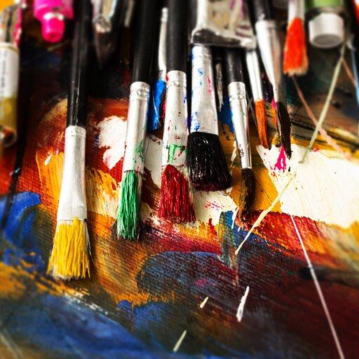 Wybrane dzieła polskiego malarstwa współczesnego