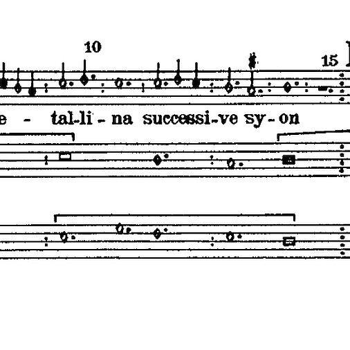 Szkoła polifonii: forma motetu, aż po XX wiek