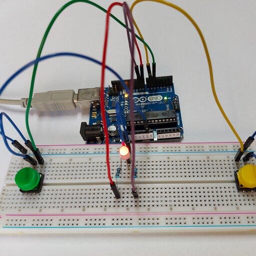 Arduino – gra na refleks