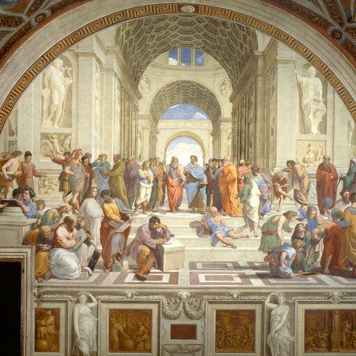 Freski Rafaela wStanzach Watykańskich