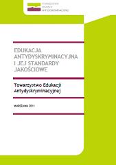 """Edukacja antydyskryminacyjna ijej standardy jakościowej - projekt """"Do-równaj jakości - rozwój standardów edukacji antydyskryminacyjnej"""""""
