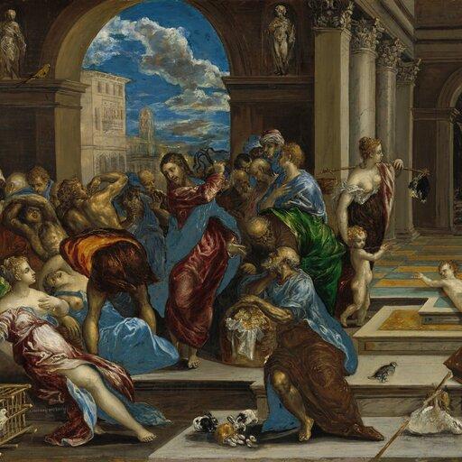 Wświecie wydłużonych form El Greca - manieryzm wmalarstwie hiszpańskim