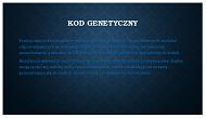 Genetyka idziedziczenie. Obsługa MS PowerPoint