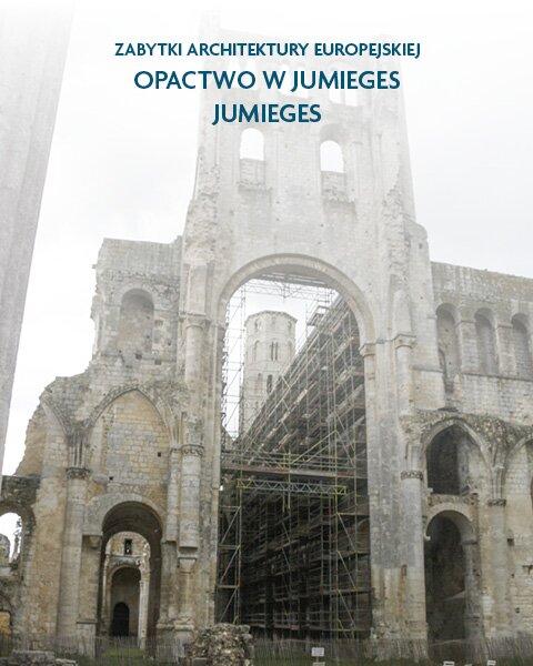 Architektura sakralna Opactwo wJumieges Jumieges, Francja