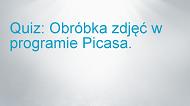 Retuszowanie zdjęć wprogramie Picasa