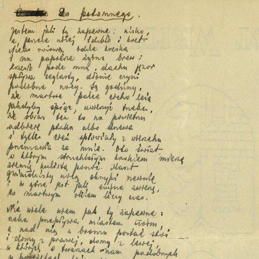 """""""Słowa, śpiewne słowa trzeba zamieniać, by godziły jak oszczep"""" – zadanie poezji według Tadeusza Gajcego"""