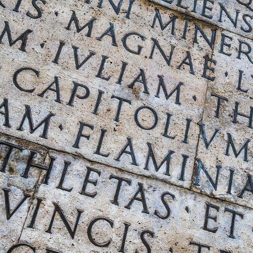 Inskrypcje łacińskie wwarszawskich Łazienkach