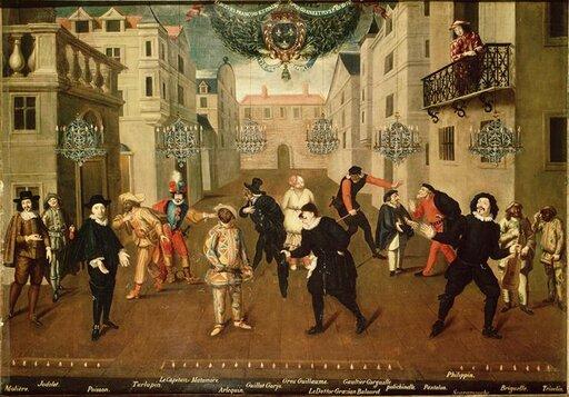 Barokowe rozrywki. Teatr, literatura imuzyka