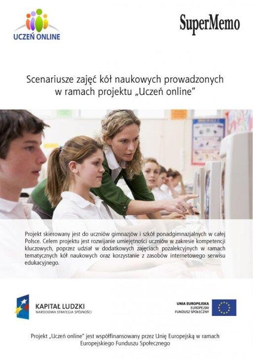 """Scenariusze zajęć kół naukowych prowadzonych wramach projektu""""Uczeń online"""""""