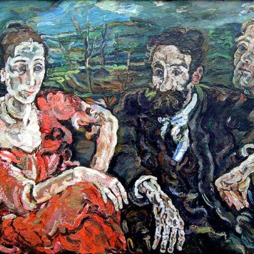 Przedstawiciele austriackiego ekspresjonizmu - Oskar Kokoschka, Egon Schiele