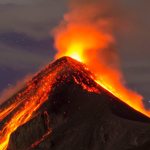 Co to jest wulkan ijak jest zbudowany?