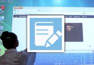 Korzystanie zszablonów do tablicy interaktywnej