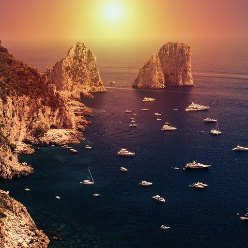 Ślady czasów cesarskich na wyspie Capri - poznajemy zabytki zczasów antycznych
