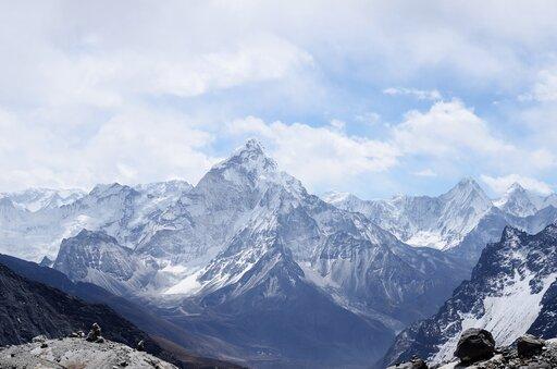 Rozmieszczenie lodowców górskich